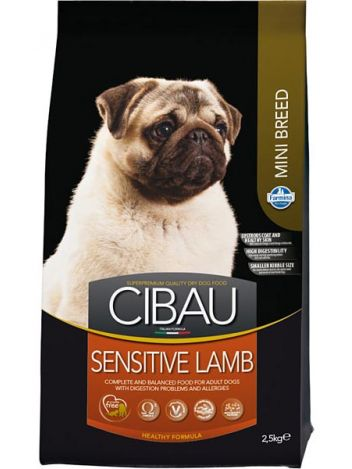 CIBAU ADULT MINI SENSITIVE LAMB - 800G
