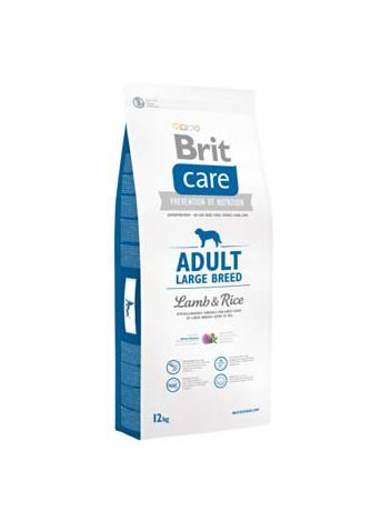 BRIT CARE ADULT LARGE BREED LAMB & RICE - 24KG (12KGx2)