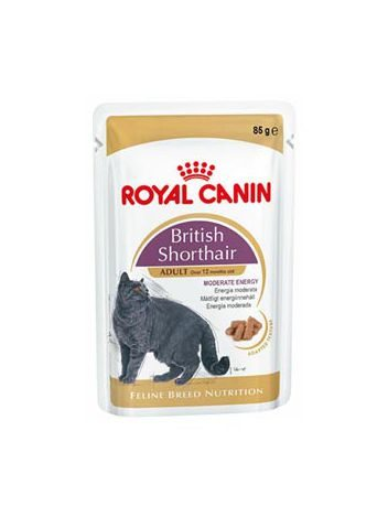 ROYAL CANIN BRITISH SHORTHAIR 85G