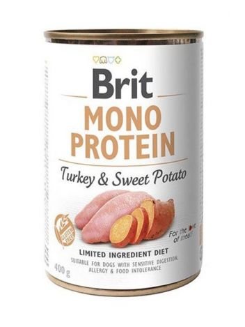 BRIT MONO PROTEIN TURKEY & SWEET POTATO - 400G