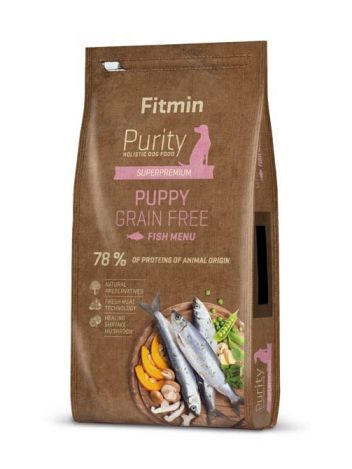 FITMIN DOG PURITY PUPPY FISH - 24KG (12KGx2)