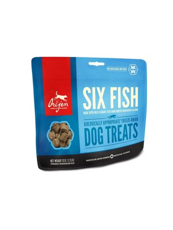 ORIJEN DOG TREAT 6 FISH 42.5G