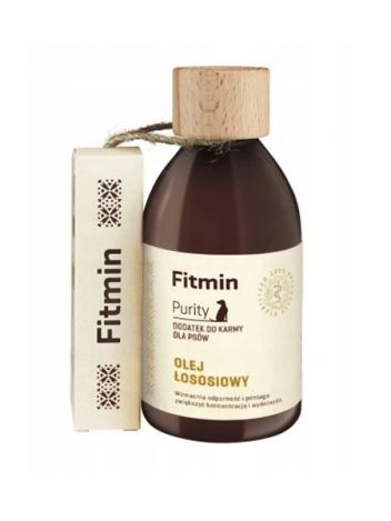 FITMIN DOG PURITY OLEJ Z ŁOSOSIA 300ML