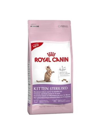 ROYAL CANIN KITTEN STERILISED 400G + 4 x KITTEN 85G