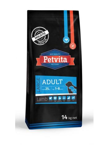 PETVITA ADULT LARGE LAMB - 14KG