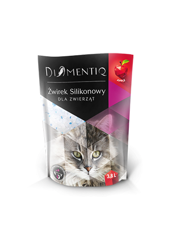 DIAMENTIQ ŻWIREK SILIKONOWY APPLE - 3,8 x 4