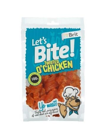 LET'S BITE TWISTER O'CHICKEN  80G