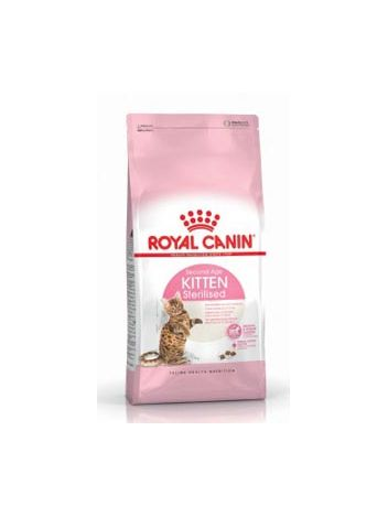 ROYAL CANIN KITTEN STERILISED - 400G + 4 x KITTEN INSTINCTIVE 85G