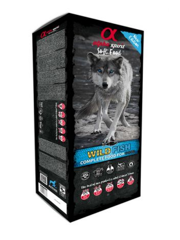 ALPHA SPIRIT WILD FISH DOG FOOD - 9KG