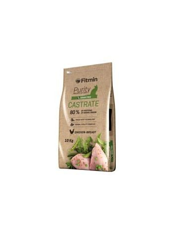 FITMIN CAT PURITY CASTRATE - 10KG